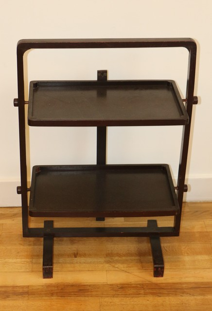 André Groult, 'Art Déco Folding Side Table, by André Groult', ca. 1930, Design/Decorative Art, Wood, Avant-Garde Gallery