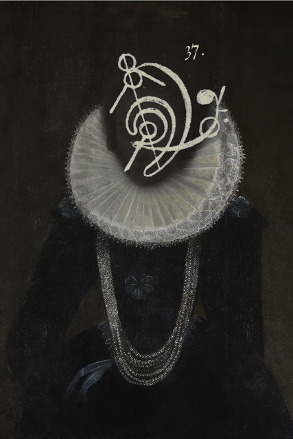 , 'Chemistry of Light 1 Portrait of Frances Cotton c.1612,' 2014, Purdy Hicks Gallery