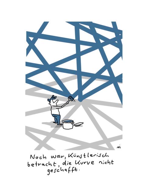 , 'Künstlerisch gesehen,' 2018, Galerie Floss & Schultz