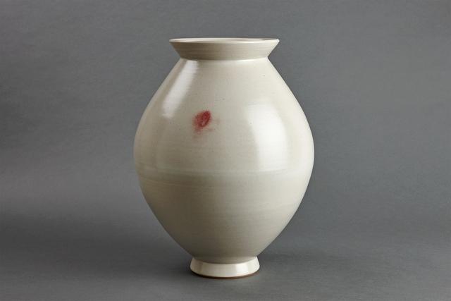 , 'Spindle vase, petalite, feldspar, and oak ash glaze,' , Pucker Gallery
