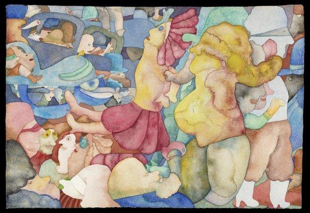 , 'Somewhat Congested,' 1968, Rhona Hoffman Gallery