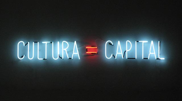 , 'Cultura=Capital,' 2012, Galería Oliva Arauna