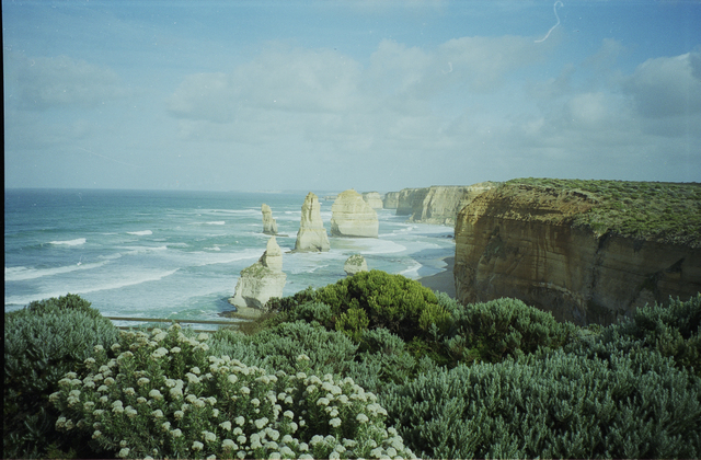 Anonymous, '12 Apostles, Australia', 1997, Photography, Digital C-Print, based on a 35mm analog Negative, Instantdreams