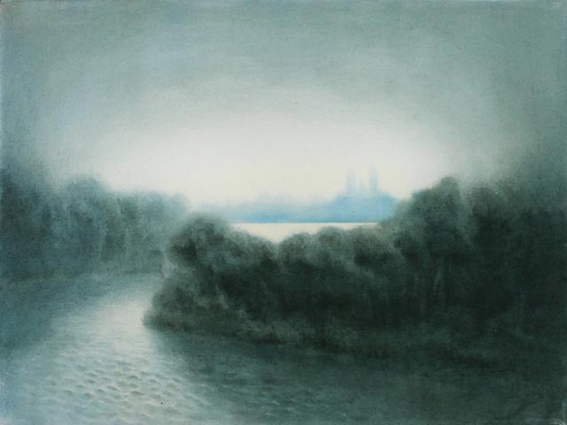 , 'Steeples,' , Davis Gallery & Framing