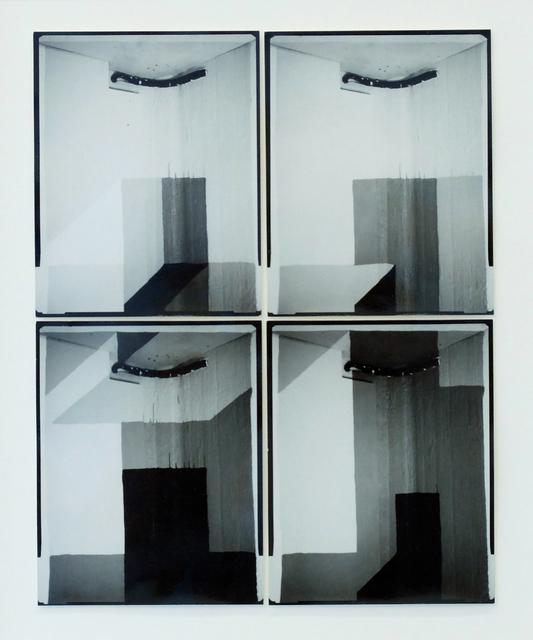 , 'Tiled 01 (white to black),' 2014, Martin van Zomeren