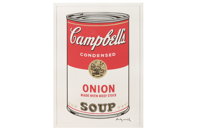 Andy Warhol, 'Campbell's Soup - Onion', Chiswick Auctions
