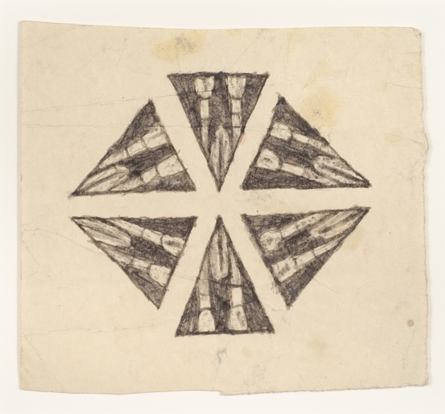 , 'Untitled (kaleidoscope drawing) ,' n.d., Adams and Ollman