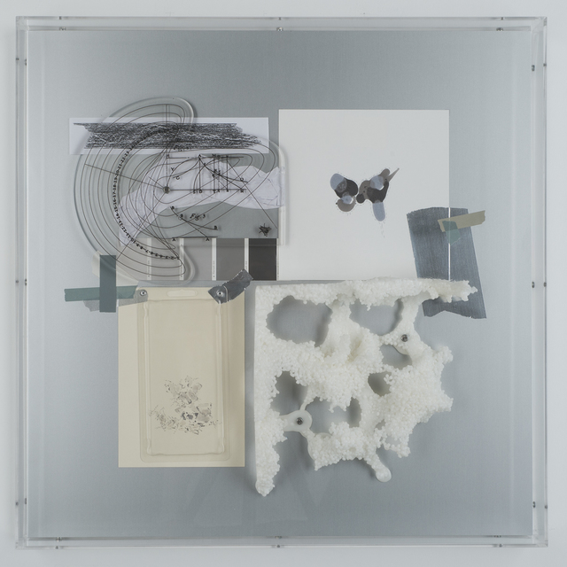 , 'Supposing relations between perception and mathematics - Collage XIV,' 2013, Diana Lowenstein Gallery