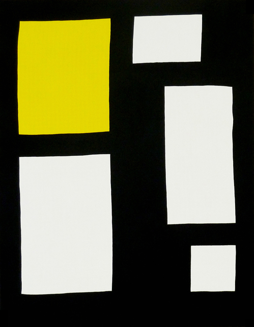 , 'Position (yellow),' 2015, Galerie Jean Brolly