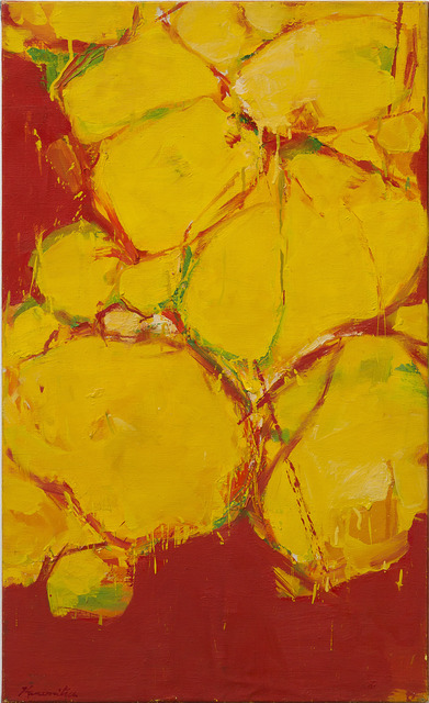, 'Untitled (Yellow),' 1960, Louis Stern Fine Arts