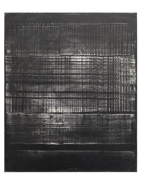 , 'Dynamische Form, schwarz,' 1959, Cortesi Gallery