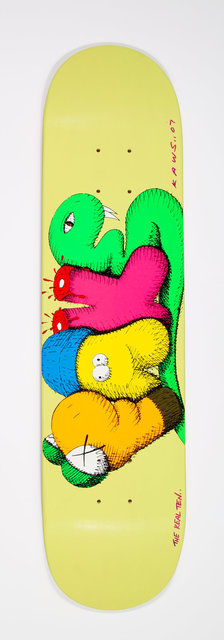 KAWS, 'Real Fake', 2007, Print, Screenprint in colors on skate deck, Heritage Auctions