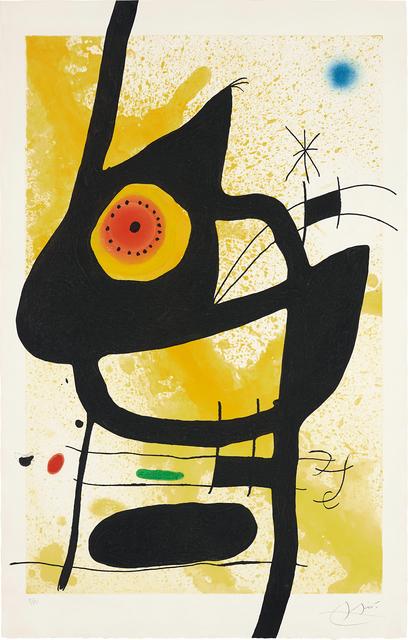 Joan Miró, 'La Femme des sables (Woman in the Sand)', 1969, Phillips