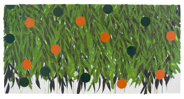 , 'Mimosa with Orange and Green Oct 3 2018,' 2018, RYAN LEE