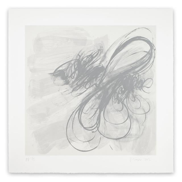 Jill Moser, 'Mobius (Abstract print)', 2012, Print, Lithograph, IdeelArt