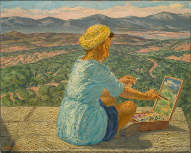 , 'Girl's Eye View,' 1945, Delaware Art Museum