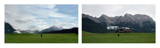 , 'Exposure #92: Mittenwald, Buckelwiesenweg, 07.08.11, 7:28 p.m.,' 2011, Monica De Cardenas