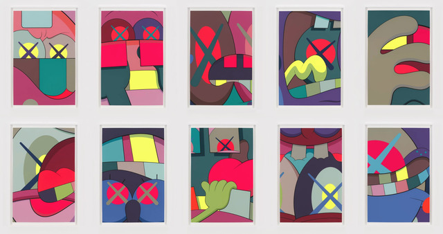 KAWS, 'Ups & Downs', 2014, Lush Art Agency