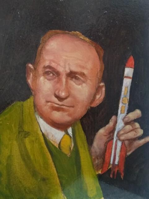 Sam Vaughan, 'Study for Atomic War (Enrico Fermi)', 2019, The Secret Gallery