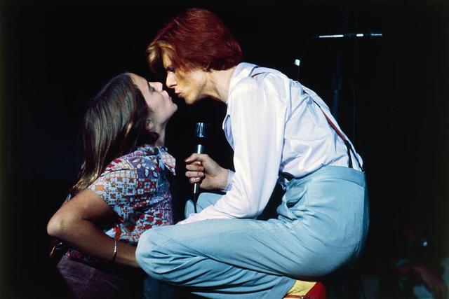 , 'David Bowie kissing a Fan,' , Mouche Gallery