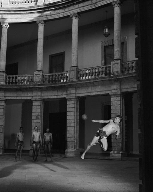 Valery Katsuba, 'Ball Player (4)', 2018, Photography, Luster paper, Anna Nova Gallery