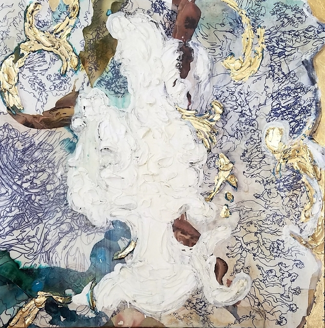 , 'White Fragment,' 2018, Toshkova Fine Art Advisory