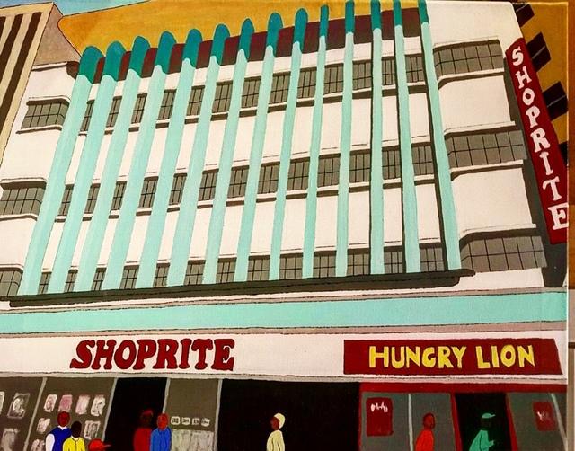 , 'Downtown Port Elizabeth, South Africa,' 2017, Clyde Hogan Fine Art