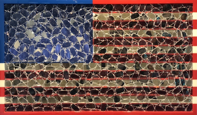 , 'USA Flag ,' 2018, Gilles Clement Gallery