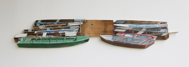 , '13 boats,' 2014, Faur Zsofi Gallery