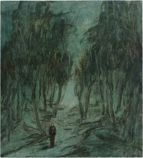 , 'Forest at Night,' 2016, Aye Gallery