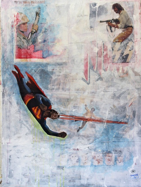 , 'Histoire sans fin / Never Ending Story, 3.35 Superman,'  2013, Montoro12 Contemporary Art