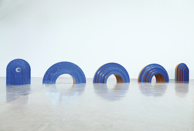 , 'Spaceland Snake,' 2018, LNS Gallery