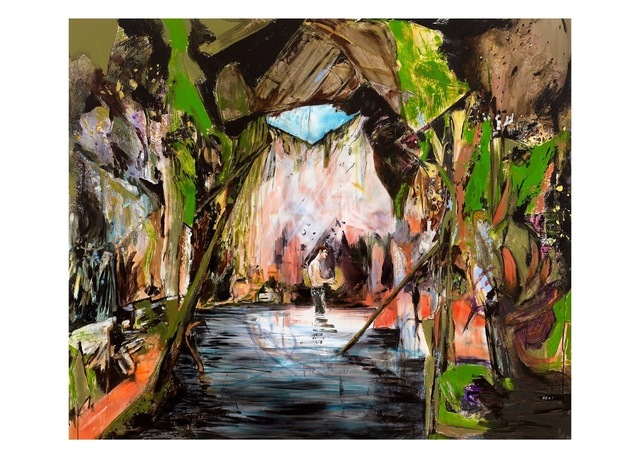 Hernan Bas, 'Wash up (cave of enlightment),' , Galerie Perrotin