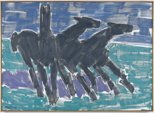 , 'Wild Horses #2 (96-11),' 1998, Berry Campbell Gallery