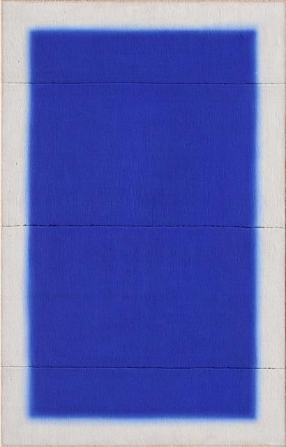 Anke Blaue, 'AB579', 2020, Painting, Hand woven antique linen acrylic, Galería Marita Segovia