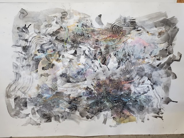 James Wolf, 'The Ultimate Guide to the Universe', 2020, Painting, Mixed Media/Watercolor/Paper, Miller White Fine Arts
