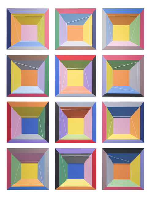 , 'Limelight, 1-12,' 2018, Cheryl Hazan Gallery