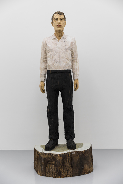 , 'Man with black trousers and white shirt,' 2016, Mai 36 Galerie