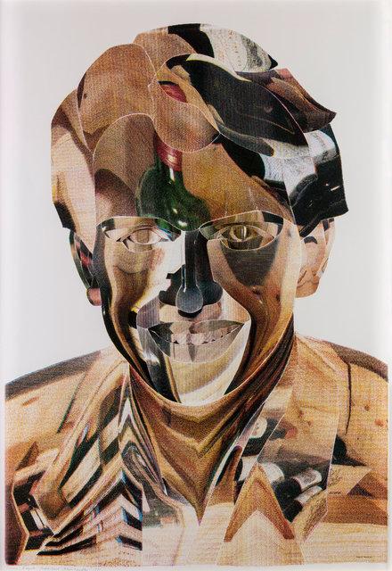 , 'Ralf Frenzel – Weinhändler (farbig) (Ralf Frenzel – Wine Merchant [colored]),' 1990, ICA Miami