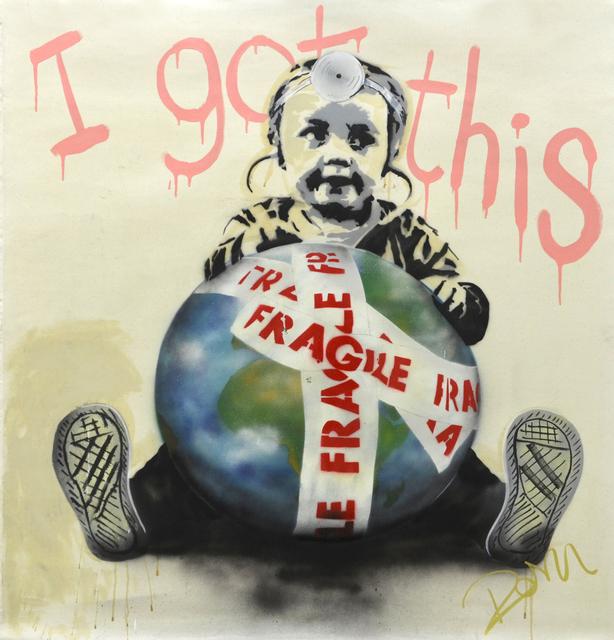 , 'Leave it to me,' 2017, Sanat Initiative