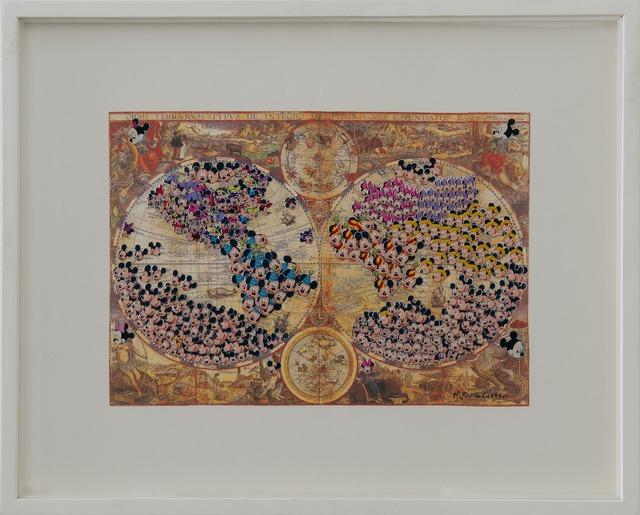 , 'Orbis Terranum,' 2000, Galerie Gabrielle Maubrie