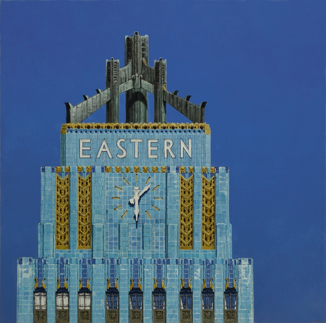 , 'L.A. Deco (Eastern Columbia Building Los Angeles),' 2018, Gallery Henoch