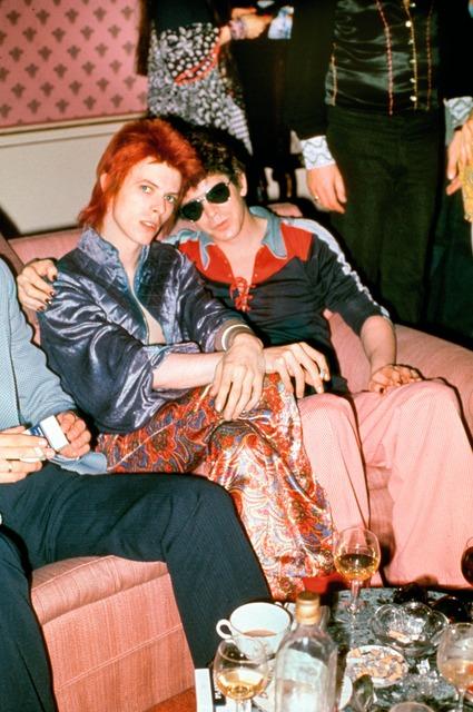 , 'Bowie, Lou Reed, Dorchester Hotel, London,' 1972, TASCHEN