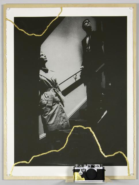 , 'Kintsugi avec Bunny Lake a disparu (1943) de Otto Preminger et Leica IIIag n° 861211 (1957),' 2015, Galerie Nathalie Obadia