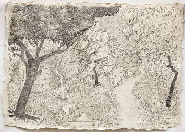 , 'Pathway to Mussoorie,' 2013, Gallery Espace
