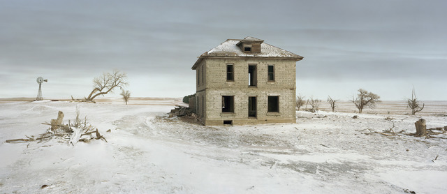 , 'The Murray House, Sears Roebuck Rockfaced Wizard No. 52, Sheridan County, Nebraska,' 2013, Yancey Richardson Gallery
