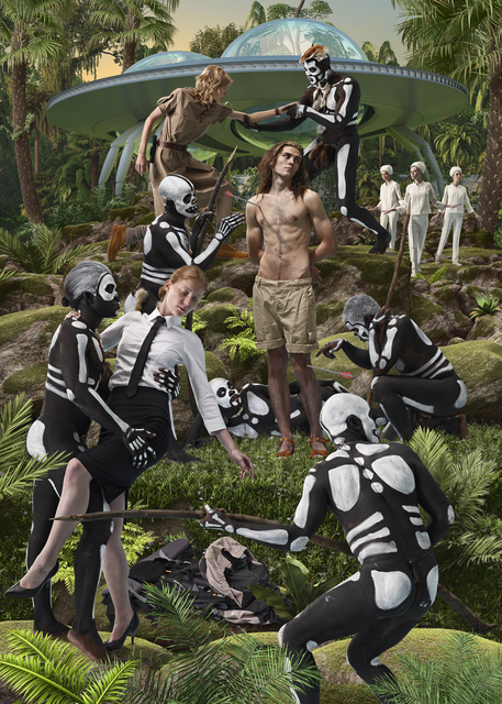 , 'Sebastian and Cannibals,' 2013, Triumph