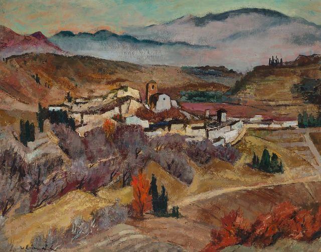Willy Eisenschitz, 'Pyrenees Town', Doyle
