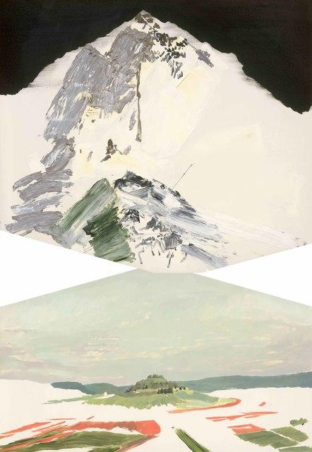 , 'Study of Landscape 72,' 2017, Aki Gallery