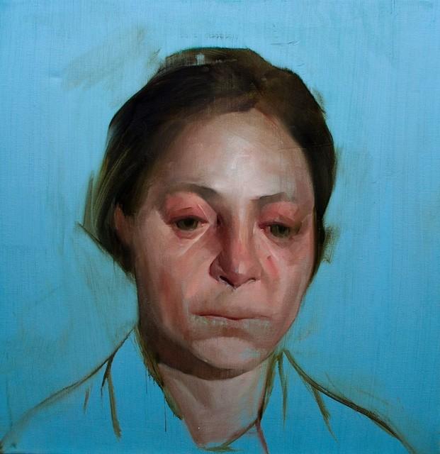 , 'Head Study III,' 2016, Abend Gallery